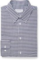 Gabriela Hearst Quevedo Slim-Fit Houndstooth Brushed-Cotton Shirt
