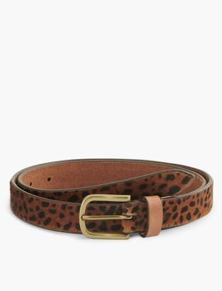 Lucky Brand Skinny Leopard Belt