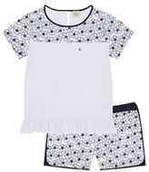 Armani Junior Floral T-Shirt Short Set
