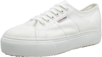 Superga 2790Cotw Linea Up And Down Women's Low-Top Trainers White (901) 3.5 UK (36 EU)