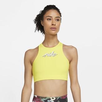 Nike Women's Medium-Support Sports Bra Swoosh