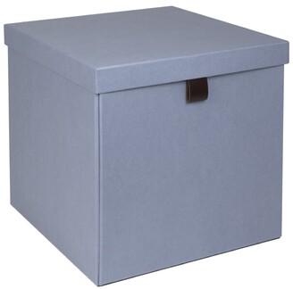 Bigso Box Of Sweden Oui X Bigso Logan Large Square Storage Box Dusty Blue