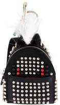 Fendi Fur Studded Backpack Monster Bag Bug Charm