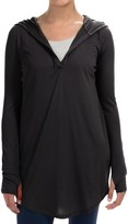 Yummie Tummie Hooded V-Neck Cover-Up - Long Sleeve (For Women)