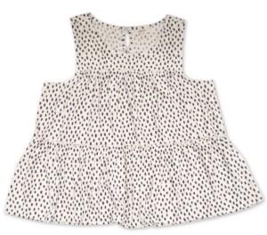 Style&Co. Style & Co Sleeveless Polka-Dot Tunic, Created for Macy's