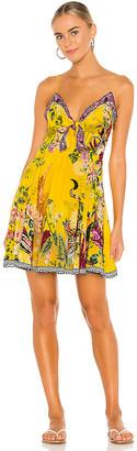 Camilla Tie Front Dress