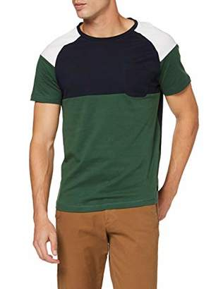 Tom Tailor Men's Colourblock T-Shirt