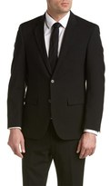 Kenneth Cole New York Wool Suit With Flat Front Pant.
