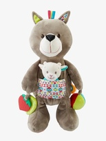 Vertbaudet Plush Wolf Early Learning Soft Toy
