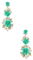 Amrita Singh Lyon Floral Statement Earrings