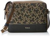 Tous Bandolera Mediana Elice, Women's Cross-Body Bag, Varios colores (Multi / Negro), 7x19x24 cm (W x H L)