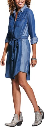 Ariat Fresh Air Dress (Chambray Blue) Women's Clothing