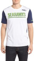 Nike Men's Champ Drive 2.0 Seahawks Reflective T-Shirt