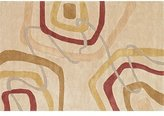 """Loloi Rugs ABACAC-06LDML2376 LT. GOLD / MULTI Contemporary Rug 2'-3"""" x 7'-6"""""""