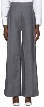 Ports 1961 Grey Wide Long Trousers