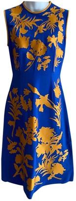 Jonathan Saunders Blue Viscose Dresses