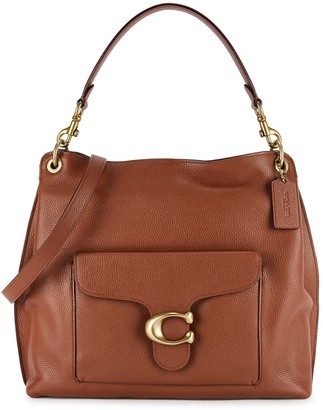 Coach Tabby Brown Leather Hobo Bag