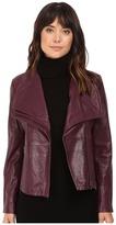 BB Dakota Newell Washer Leather Jacket