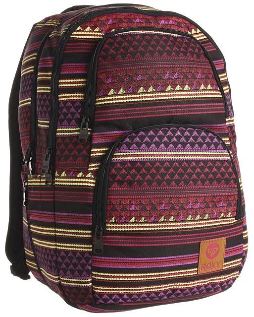 Roxy Huntress Backpack (Hot Fuchsia) - Bags and Luggage
