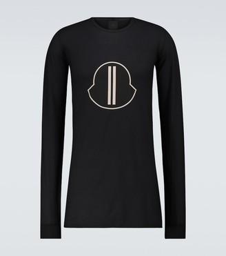 Rick Owens Moncler + long-sleeved T-shirt