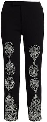 Libertine Gothic Spire Stretch-Wool Pants