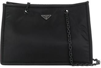 Prada Large Logo Shoulder Bag