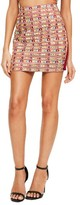 Missguided Women's Embellished Miniskirt