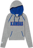 PINK University Of Kansas Bling Crossover Perfect Pullover