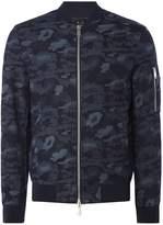 Armani Exchange Camo Bomber Jacket