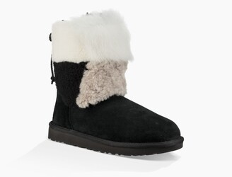 UGG Classic Short Patchwork Fluff Boot