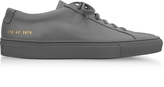 Common Projects Medium Grey Leather Original Achilles Low Men's Sneakers