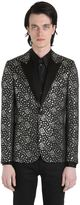 Saint Laurent Jacquard Etoile Evening Jacket