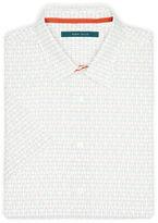 Perry Ellis Short Sleeve Multi-Color Geo Print Shirt