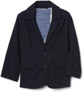 Solid blazer