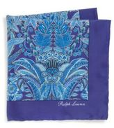 Ralph Lauren Exotic Floral Silk Pocket Square