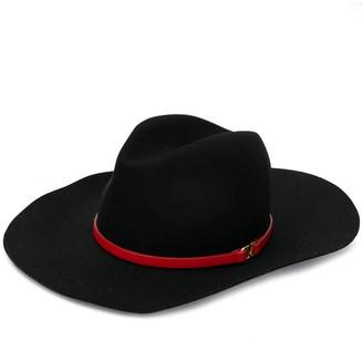 Valentino VLOGO fedora hat