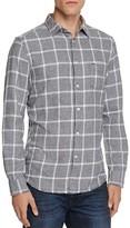 Diesel S-Tas Flannel Check Regular Fit Button Down Shirt