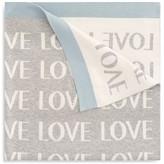 Elegant Baby Infant Boys' Love Knit Blanket