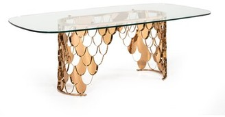 Everly Dwaine Glass Dining Table Quinn