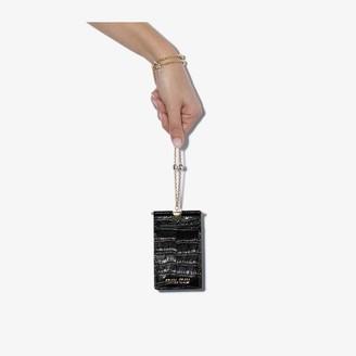 Miu Miu black St. Cocco leather mini bag
