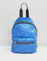 Asos Mini Quilted Nylon Backpack