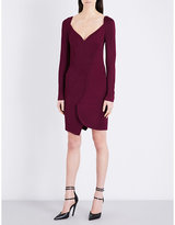 Givenchy Asymmetric stretch-jersey mini dress