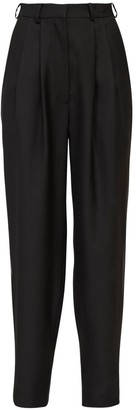 ANOUKI High Waist Wool Blend Pants