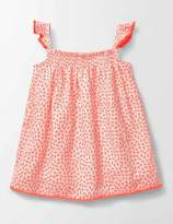 Boden Smocked Woven Top