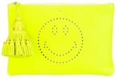Anya Hindmarch Smiley Georgiana Clutch - Yellow