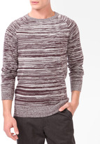 Forever 21 21 MEN Duo-Tone Knit Sweater