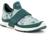 Ecco Women 's BIOM Amrap Band Patterned Slip-On Sneakers