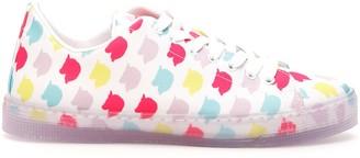 IRENEISGOOD Unicorn Pattern Low Sneakers