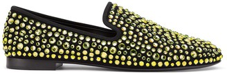 Giuseppe Zanotti David embellished loafers