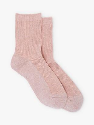 Mint Velvet Glitter Socks